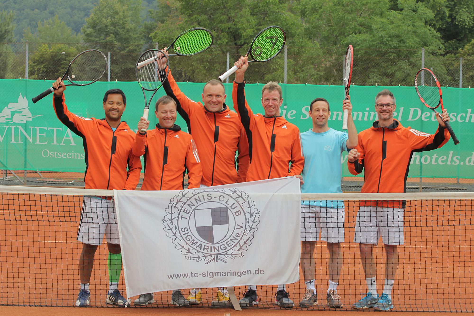 TC Sigmaringen Württembergische Meisterschaften 2018