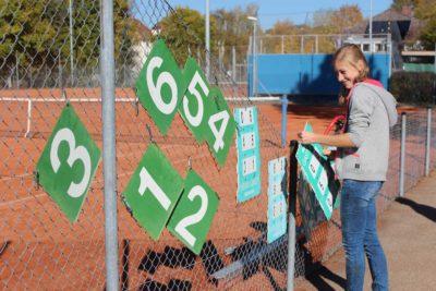 Tennisclub Sigmaringen Arbeitseinsatz